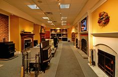 Fireplace and Hearth products Showroom.