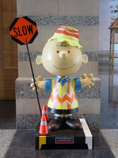 Safety Officer Charlie Brown