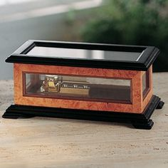 DIY Music Box Plan - Build a music box for a great holiday gift! Our plan makes it easy. Designed to hold our and 72 note musical movements. Woodworking Furniture Plans, Rockler Woodworking, Easy Woodworking Projects, Bandsaw Projects, Youtube Woodworking, Woodworking Equipment, Woodworking Store, Woodworking Patterns, Woodworking Workshop