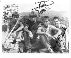 River Phoenix and the group from Stand By Me, one of my favorite movies...