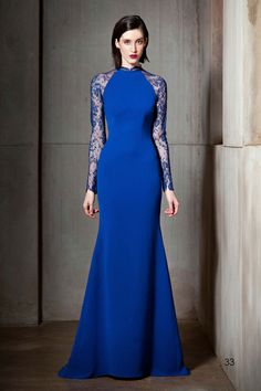 elegant blue clothes for women   Nha Khanh Autumn-Winter 2012-2013 Collection For Women (1)
