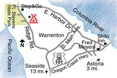 Activities, attractions and events for the Astoria / Warrenton / Seaside KOA RV Park in Oregon