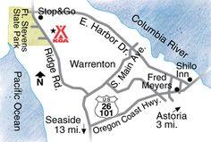 Activities, attractions and events for the Astoria / Warrenton / Seaside KOA RV Park in Oregon