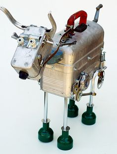 Steampunk Steer | Flickr - Photo Sharing!
