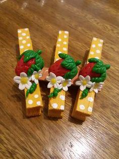 Jani Gomes Pregador decorado com biscuit