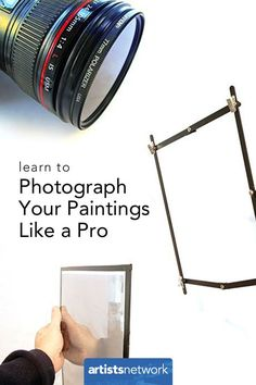 Photograph Your Art Like a Pro -- Create great reproductions of your work AND know how to paint using photo references. Written by John Hulsey and Ann Trusty.