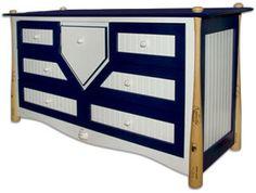 Guest bedroom-baseball theme