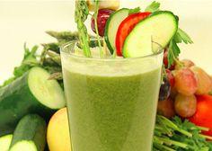 A Chef's Juice: Mighty Green Grape | Reboot With Joe veggies: tomato, asparagus, etc.