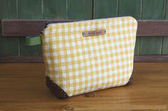 Zippered Handbag - Cosmetic Bag Tutorial ~