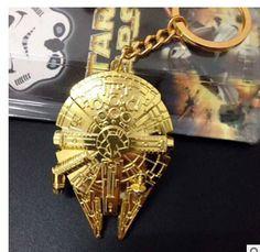Star Wars 7 Spacecraft warship keychain toys 2016 New Force Awaken Millennium Falcon /Imperial Star Destroyer minifigure toys