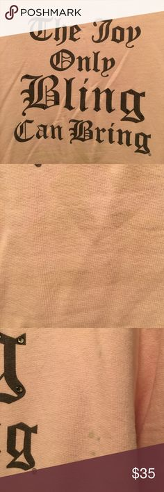 Juicy Jacket Cute Pale Pink Juicy Couture Zip Up Sweat Jacket. It has a few stains on the back and sleeve,I took pics of them,otherwise in great condition.Message me with further questions😍 Juicy Couture Jackets & Coats