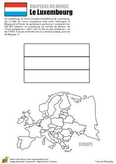 Bildergebnis für Luxembourg coloriage
