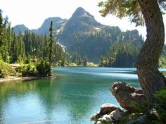 Upper Lena Lake, Olympic National Park