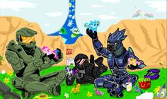 Even Master Chief Loves MLP: FIM