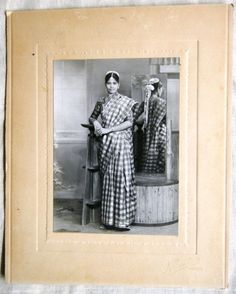 1930s Original Vintage B Photograph Young Indian Bride