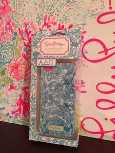 NIB Lilly Pulitzer iPhone 5 Case HIDDEN LIONS Apple Gift Box $30 Alpha Delta Pi  #LillyPulitzer
