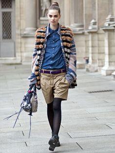 Paris Street Style Fall 2012