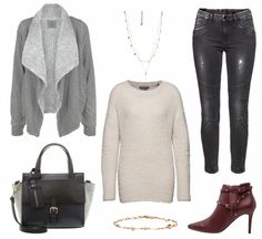 #Herbstoutfit Stil ♥ #outfit #Damenoutfit #outfitdestages #dresslove