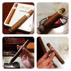 連日の贅沢な時間 #Davidoff -#Primeros #Trinidad -#Reyes #Camacho -#Churchill #RomeoYJulieta -#No2 #Cigar #葉巻 #Habana #Cuba #Dominica #Honduras by dj_hawk_shiga_jp