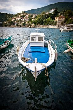 The Blue Fishing Boat, Greece