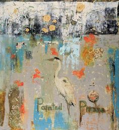 """Painted Prose, 50"""" x 54"""""""