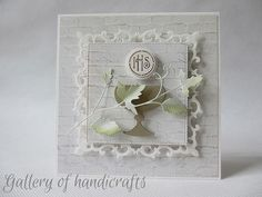 Gallery of handicrafts Die Cut Cards, First Communion, Baby Cards, Handicraft, Christening, Holi, Envelope, Confirmation, Scrapbooking