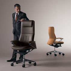 Legender (Okamura's executive chair) – Executive Home Office Design Used Office Chairs, Luxury Office Chairs, Wooden Office Chair, High Back Office Chair, Best Office Chair, Black Office Chair, Swivel Office Chair, Home Office Chairs, Best Ergonomic Office Chair