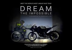 Meet the world's first disabled motorcycle race team as they set out to compete against able bodied riders on the very machine that disabled them.   Talan Skeels-Piggins was paralysed in 2003 when a car side-swiped him and he ploughed his motorbike head-on into oncoming traffic. He was told he had just a 30 percent chance of survival and would never walk again if he lived. Today, Talan and a team of three additional disabled riders continue to strap themselves to motorbikes and race…