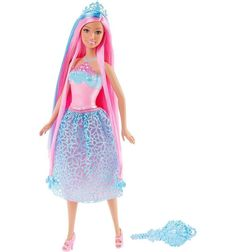 Кукла Barbie ( Кукла Барби ) Принцесса с длинными волосами желтые волосы   Barbie.Ru   Барби в России