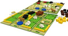 Agricola: All Creatures Big and Small | Image | BoardGameGeek While I was not a huge fan of Agricola, THIS game rocks. It is a fairly quick, easy to learn two player game that, for me, includes my favorite components and elements from Agricola.  Also comes in a small, highly portable box.