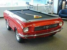 This pool table will make your recreation room the talk of the town!