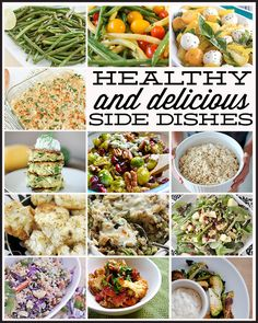 I'm always trying to find good side dishes for dinner.  This has over 25 delicious & healthy (bonus!) side dishes to complete any meal.