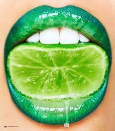Incredible Lip Art – La Elegantia – Incredible Lip Art – Informations About Unglaubliche Lippen-Kunst – Lip Gloss Colors, Lip Colors, Makeup Art, Lip Makeup, Fairy Makeup, Mermaid Makeup, Teen Makeup, Lip Artwork, Green Lips