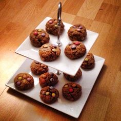 M&Ms Oatmeal Cookies