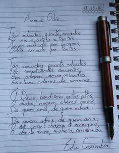 Edu Cezimbra: Amor e Ódio