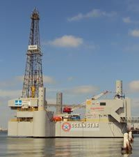 Best things to go in Galveston, TX. Galveston Itinerary, OceanStar Drilling Rig & Museum