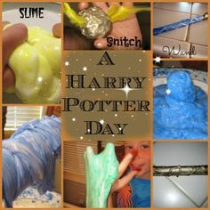 Activities inspired by Harry Potter