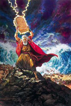 Moses destroying the Tablets of Law. Ray One is Bold leadership and not afraid of breaking the rules , and then constructing new ones around a higher focal point . Images Bible, Bible Photos, Bible Pictures, Jesus Pictures, Christian Artwork, Christian Pictures, Art Prophétique, Arte Judaica, Bible Illustrations