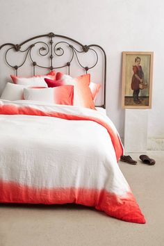 Sol Linen Duvet | anthropologie