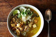 Chicken Tofu Laksa, a recipe on Food52