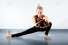 skandasana. could be with mudra out front. Love it.