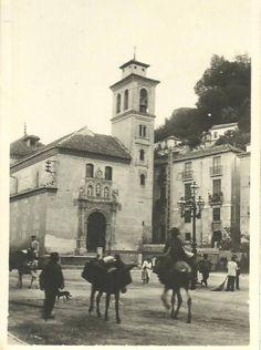 Sede Canónica - Gran Poder y Esperanza Granada San Gil, Granada, Santa Ana, Andalusia, Old Pictures, Notre Dame, Paths, Taj Mahal, Street View