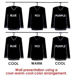 Cool-Warm-Cool Planogram