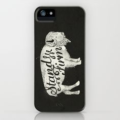 Stand Firm iPhone & iPod Case by Landon Sheely - $35.00