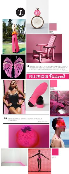 curating the curated: hot pink | trendland: fashion blog & trend magazine