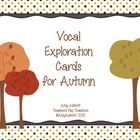 These colorful and bright cards are perfect for the beginning of class to help your students warm up their voices.  Your students will use their vo...