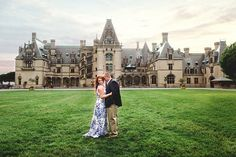 Jessica and Corbin put a ring on it at the iconic Biltmore Estate in Asheville, North Carolina. They returned there for their engagement session, where they spent an entire evening walking around the grounds (they're season pass holders, so they had free reign).Related: American Royalty: Get Married in a Classic Castle