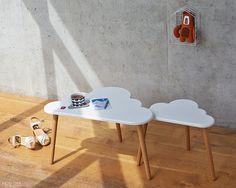Tables basses de nuage  set de deux par PygmyCloud sur Etsy