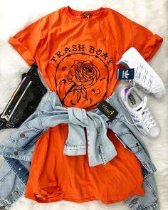 Trash Boat Floral Casual Dress - Orange Fashion girls, party dresses long dress for short Women, casual summer outfit ideas, party dresses Fashion Trends, Latest Fashion # Teenage Outfits, Teen Fashion Outfits, Outfits For Teens, Trendy Outfits, Girl Outfits, Fashion Fashion, Fashion Black, Fashion Ideas, Vintage Fashion