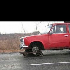 Redneck repairs!!